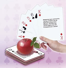 Safer Sex Messages Playing Cards
