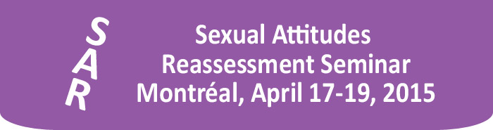 Sexual Attitudes Reassessment Seminar (SAR): Montreal, October 17-19